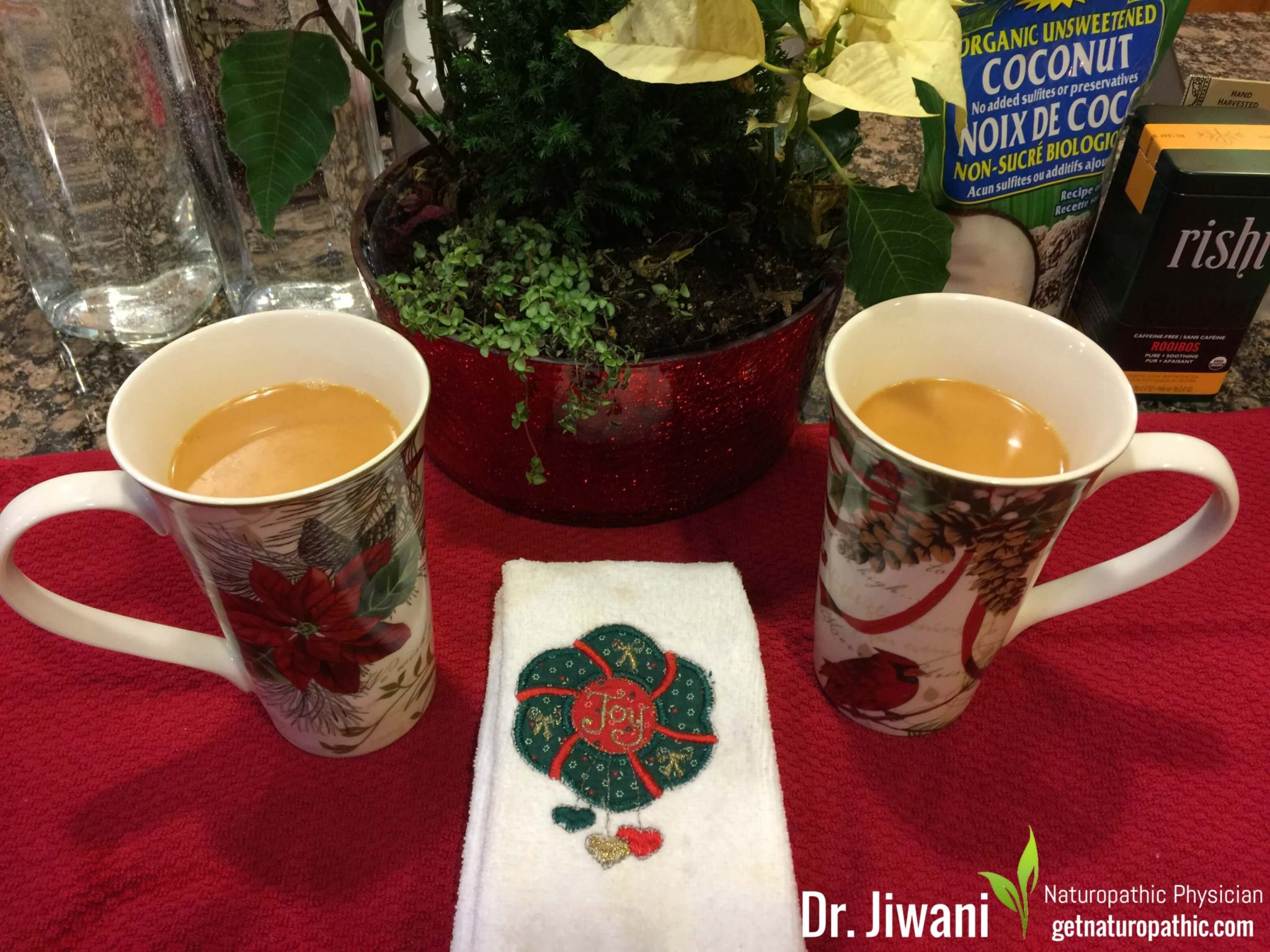 Dr. Jiwani's Caffeine-Free Chai Latte provides the comfort of a latte with the kick of Indian Spices, yet Low Carb, Gluten-Free, Egg-Free, Dairy-Free, Soy-Free, Corn-Free, Ideal For Paleo, Keto, Vegan & Allergy-Free Diets | Dr. Jiwani's Naturopathic Nuggets Blog