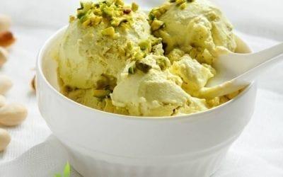 Recipe: Dr. Jiwani's Pistachio Ice Cream: Dairy-Free, Low Carb, Paleo, Keto & Vegan