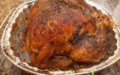 Recipe: Dr. Jiwani's Roasted Turkey (Low Carb Gluten-Free Dairy-Free Sugar-Free for Paleo Keto & Candida Diets)