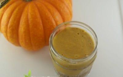 Recipe: Dr. Jiwani's Vegan Pumpkin Pie (Nut-Free Low Carb Gluten-Free Dairy-Free Sugar-Free for Vegan Paleo Keto & Candida Diets)
